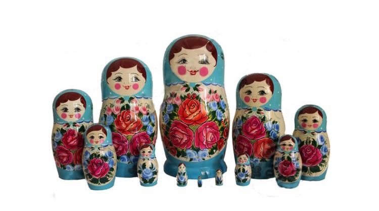 Подарки из России для иностранцев_матрешка