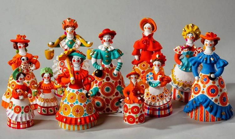 Подарки из России для иностранцев_дымковская игрушка