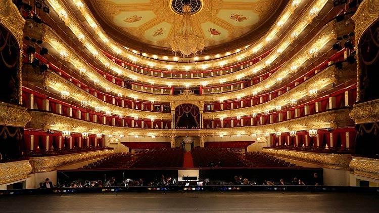 Подарки из России для иностранцев_билет в Большой театр